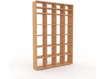 Bibliothèque - Hêtre, design, étagère pour livres, sophistiquée, ouverte et fonctionelle - 156 x 235 x 35 cm, personnalisable