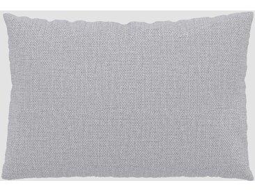 Coussin Gris Clair - 40x60 cm - Housse en Tissu Fin. Coussin de canapé moelleux