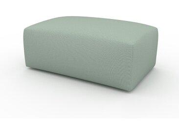Pouf - Vert menthe, design épuré, 100 x 42 x 64 cm, modulable