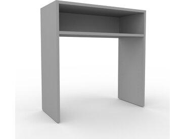 Table console - Gris, design, pour chambre ou entrée élégante - 77 x 80 x 35 cm, personnalisable