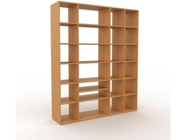 Bibliothèque - Chêne, design, étagère pour livres, sophistiquée, ouverte et fonctionelle - 193 x 233 x 47 cm, personnalisable