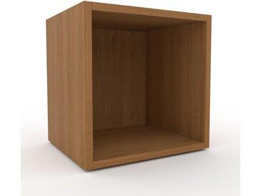 Table de chevet - Chêne, design minimaliste, table de nuit élégante - 41 x 41 x 35 cm, personnalisable
