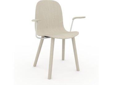 Chaise en bois Bouleau de 49 x 83 x 62 cm au design unique, configurable