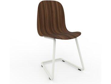 Chaise en bois Noyer de 49 x 83 x 44 cm au design unique, configurable