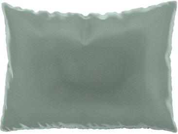 Coussin Bleu Glacier - 48x65 cm - Housse en Velours. Coussin de canapé moelleux