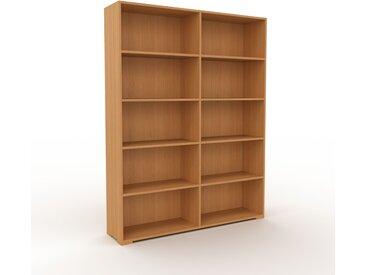 Étagère bureau - Chêne, design, cabinet de rangement de qualité, pour documents - 152 x 196 x 35 cm, personnalisable