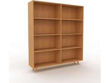 Bibliothèque - Chêne, design, étagère pour livres, sophistiquée, ouverte et fonctionelle - 152 x 168 x 35 cm, personnalisable