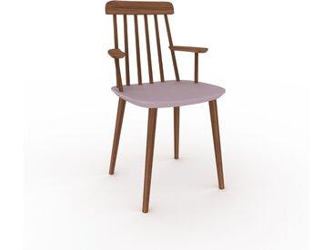 Chaise avec accoudoirs Rose poudré de 43 x 82 x 53 cm au design unique, configurable