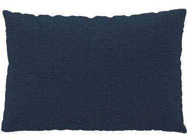 Coussin Bleu Océan - 40x60 cm - Housse en Tissu Fin. Coussin de canapé moelleux