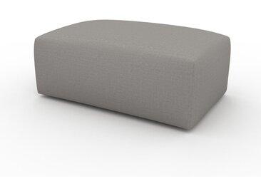 Pouf - Grège, design épuré, 100 x 42 x 64 cm, modulable