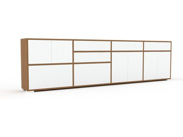 Enfilade - Blanc, design, buffet, avec porte Blanc et tiroir Blanc - 301 x 81 x 35 cm