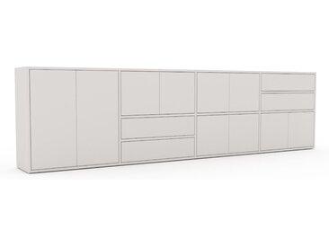 Enfilade - Blanc, design, buffet, avec porte Blanc et tiroir Blanc - 301 x 80 x 35 cm