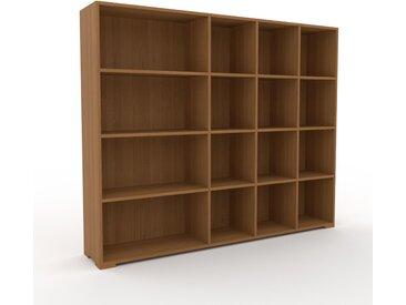 Bibliothèque - Chêne, design, étagère pour livres, sophistiquée, ouverte et fonctionelle - 193 x 158 x 35 cm, personnalisable