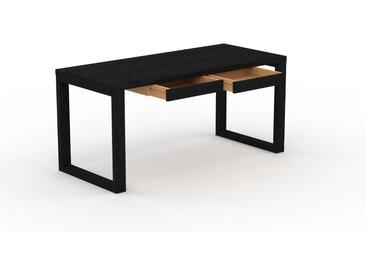 Table - Wengé, contemporaine, haute qualité, avec tiroir Wengé - 160 x 75 x 70 cm, personnalisable