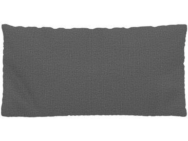Coussin Gris Pierre - 40x80 cm - Housse en Textile tissé. Coussin de canapé moelleux