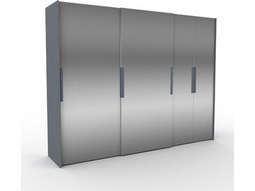 Dressing - portes coulissantes miroir, design, armoire penderie pour chambre ou entrée, haute qualité - 304 x 233 x 65 cm, modulable
