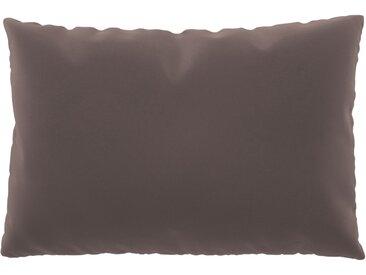 Coussin Rose Poudré - 40x60 cm - Housse en Velours. Coussin de canapé moelleux