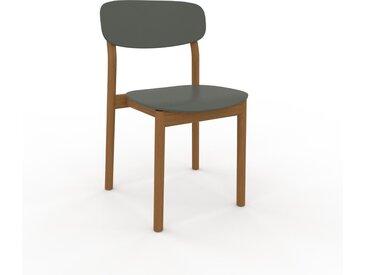 Chaise en bois Vert de gris de 52 x 82 x 49 cm au design unique, configurable