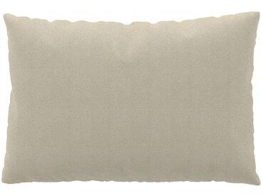 Coussin Beige Crème - 40x60 cm - Housse en Tissu grossier. Coussin de canapé moelleux