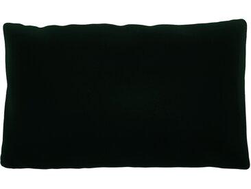 Coussin Vert Sapin - 30x50 cm - Housse en Velours. Coussin de canapé moelleux