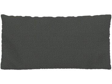 Coussin Gris Pierre - 40x80 cm - Housse en Tissu grossier. Coussin de canapé moelleux
