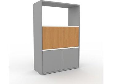 Buffet - Gris, pièce modulable, enfilade, avec porte Gris - 77 x 118 x 35 cm