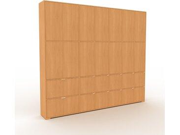 Placard - Hêtre, contemporain, rangements, avec porte Hêtre - 270 x 235 x 35 cm, modulable