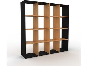 Étagère - Chêne, design, rangements de qualité, fonctionnels - 156 x 157 x 35 cm, configurable