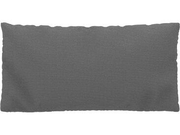 Coussin Blanc Granite - 40x80 cm - Housse en Tissu grossier. Coussin de canapé moelleux