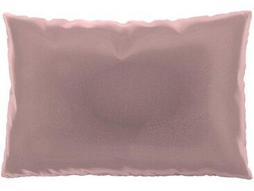 Coussin Rose Bonbon - 40x60 cm - Housse en Velours. Coussin de canapé moelleux