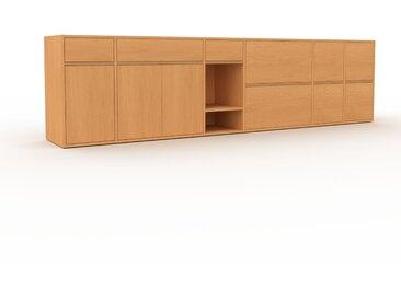 Enfilade - Hêtre, design, buffet, avec porte Hêtre et tiroir Hêtre - 306 x 80 x 47 cm