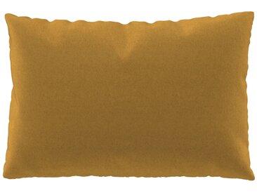 Coussin Jaune Colza - 40x60 cm - Housse en Laine. Coussin de canapé moelleux