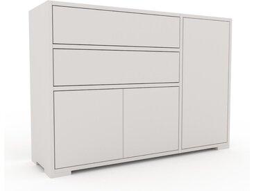 Enfilade - Blanc, design, buffet, avec porte Blanc et tiroir Blanc - 116 x 81 x 35 cm
