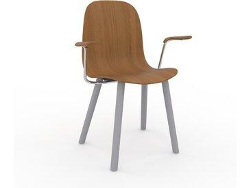 Chaise en bois Chêne de 49 x 83 x 62 cm au design unique, configurable