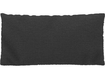 Coussin Gris Gravier - 40x80 cm - Housse en Tissu Fin. Coussin de canapé moelleux