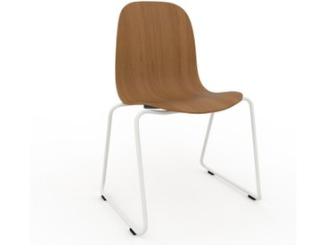 Chaise en bois Chêne de 49 x 83 x 58 cm au design unique, configurable