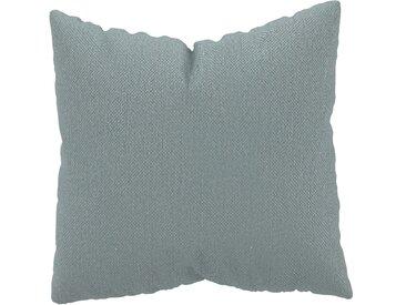 Coussin Gris Clair - 50x50 cm - Housse en Textile tissé. Coussin de canapé moelleux