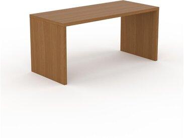 Bureau - Chêne, design contemporain, table de travail, fonctionnelle - 160 x 75 x 70 cm, modulable