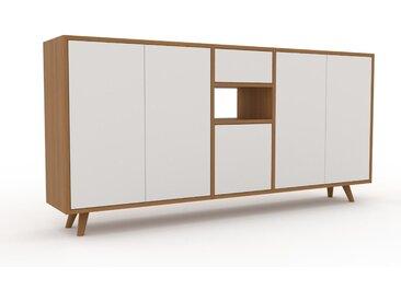 Enfilade - Blanc, design, buffet, avec porte Blanc et tiroir Blanc - 190 x 91 x 35 cm