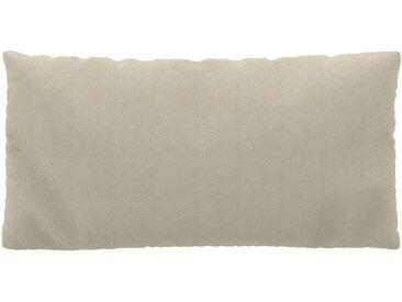 Coussin Beige Crème - 40x80 cm - Housse en Tissu grossier. Coussin de canapé moelleux