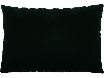 Coussin Vert Sapin - 40x60 cm - Housse en Velours. Coussin de canapé moelleux