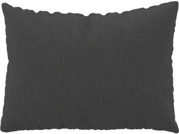 Coussin Gris Pierre - 48x65 cm - Housse en Tissu grossier. Coussin de canapé moelleux