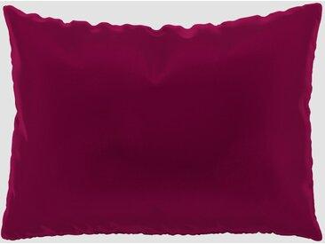 Coussin Rose Magenta - 48x65 cm - Housse en Velours. Coussin de canapé moelleux