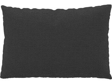 Coussin Gris Gravier - 40x60 cm - Housse en Tissu Fin. Coussin de canapé moelleux