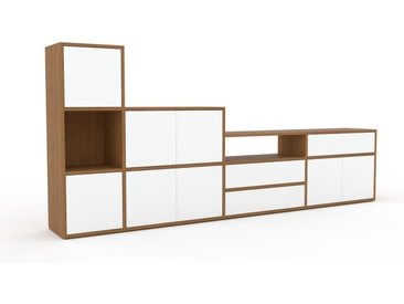 Enfilade - Blanc, design, buffet, avec porte Blanc et tiroir Blanc - 265 x 118 x 35 cm