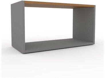 Système d'étagère - Gris, design contemporain, rangements de qualité, modulables - 77 x 41 x 35 cm, personnalisable