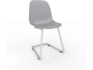 Chaise cantilever Gris clair de 49 x 82 x 44 cm au design unique, configurable