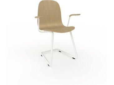 Chaise cantilever Bouleau de 49 x 83 x 62 cm au design unique, configurable
