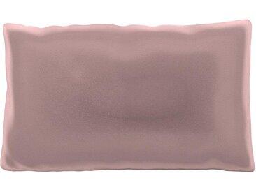 Coussin Rose Bonbon - 30x50 cm - Housse en Velours. Coussin de canapé moelleux