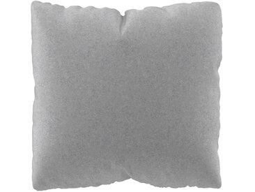 Coussin Gris Clair - 40x40 cm - Housse en Laine. Coussin de canapé moelleux